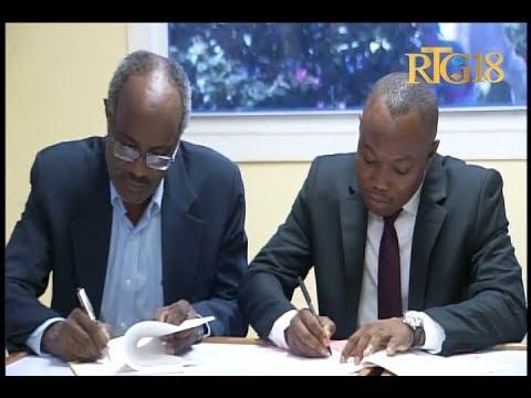Signature d'un accord entre le ministère de la culture et la faculté des sciences de l'UEH