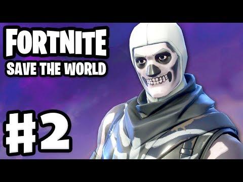 Fortnite: Save the World - Gameplay Walkthrough Part 2 - Ride the Lightning! (PC) (видео)