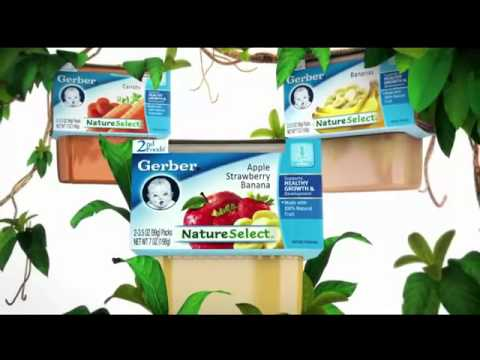 TV Commercial – Gerber – Baby Food – For Nature Selects  – Nourishing Generation Healthy