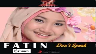 Fatin Shidqia Lubis XFI iTunes DEMO (DON'T SPEAK / NO DOUBT)