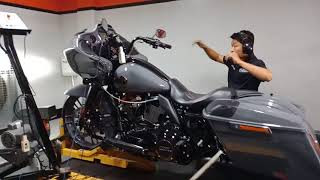 3. Dyno 2018 Harley Davidson Road Glide CVO with CFR exhuast installed