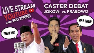 Video Highlight Debat Jokowi VS Prabowo Dengan Caster Eno Bening - Pemuda Politik MP3, 3GP, MP4, WEBM, AVI, FLV Januari 2019