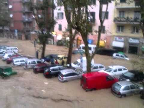 Alluvione a Genova