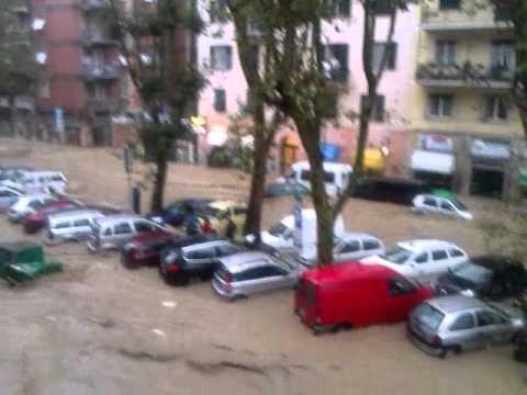 Alluvione a Genova