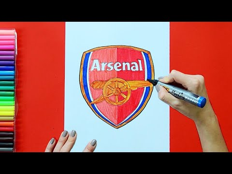 How To Draw Arsenal F.C. Logo