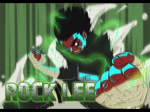 Rock Lee - Till I Collapse AMV [1080p]