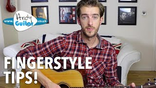 Acoustic Fingerstyle Guitar Tips - Intermediate Guitar Lesson