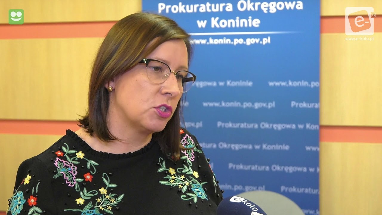 Prokuratura Okręgowa w Koninie o zatrzymaniu policjanta