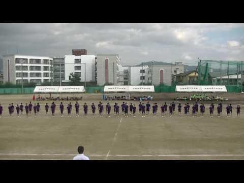 2016京都学園中学校体育祭 3年生「集団行動」