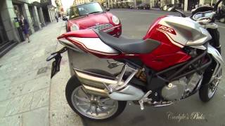 7. MV Agusta Brutale 1090RR Review Part 1! My Italian adventure!