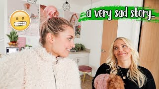 how my mom's hair caught on fire at the christmas party... (why we took a break) by Aspyn + Parker