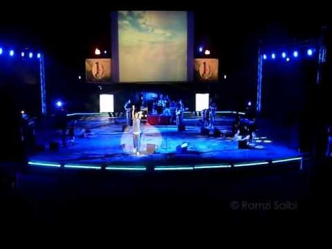 Najim sur la scène du festival du Casif (Alger) 2012