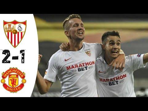 Sevilla vs Manchester united 2-1-All Goals & Extended Highlight 2020