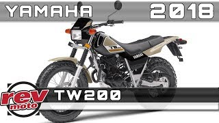 8. 2018 YAMAHA TW200 Review Rendered Price Release Date