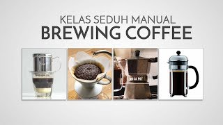Barista Class | Manual Brewing