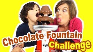 Video CHALLENGE CHOCOLATE FOUNTAIN - 10 ingrédients mystères MP3, 3GP, MP4, WEBM, AVI, FLV Mei 2017
