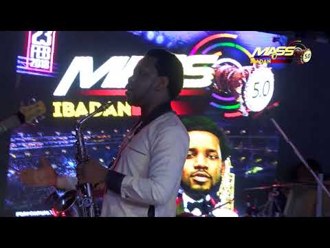 BEEJAY SAX Raise The Praise At MASS 5.0 Concert Tour At Liberty Stadium Ibadan