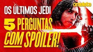 Video Star Wars: Os Últimos Jedi - 5 perguntas COM spoilers | OmeleTV MP3, 3GP, MP4, WEBM, AVI, FLV Desember 2017