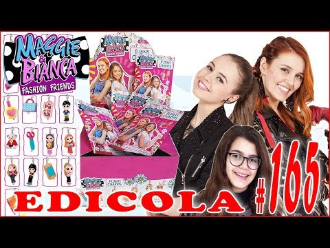 MAGGIE e BIANCA FUNNY CHARMS Apriamo un pacco intero di bustine (EDICOLA by Giulia Guerra) (видео)