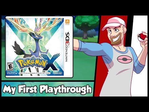 Pokemon X- My First Playthrough - Live