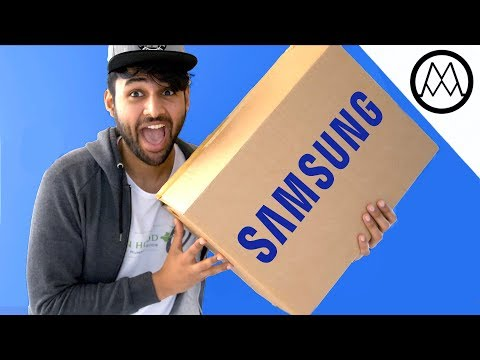 MYSTERY UNBOXING FROM SAMSUNG!
