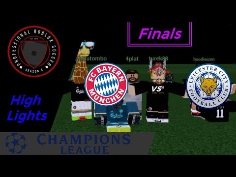 [PRS] Bayern vs Leicester City || UCL | FINALS || HighLights
