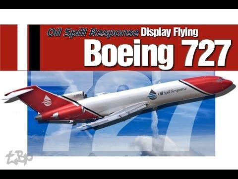 Boeing 727 G-OSRA of Oil Spill...