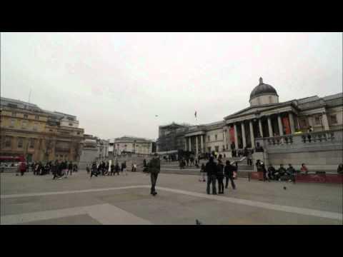 Trafalgar square time lapse video go londra for Time square londra