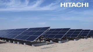Hitachi Infrastructure systems company - Solar powered desalination plants