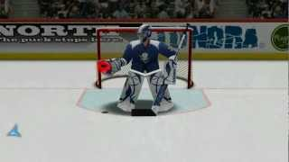 Virtual Goaltender YouTube video