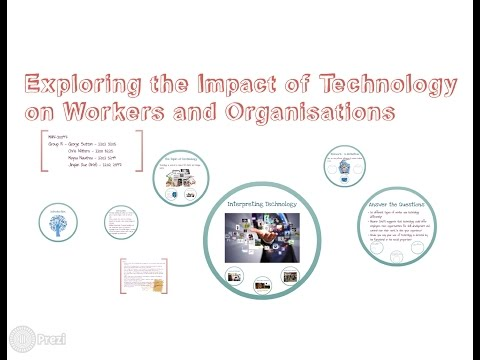 Exploring the impact of technology on workers and organisations