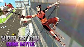Super Cat Girl Crime Battle