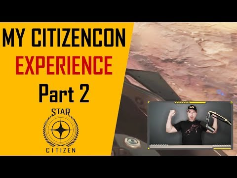 Citizencon 2018 - Keynote crowd reactions