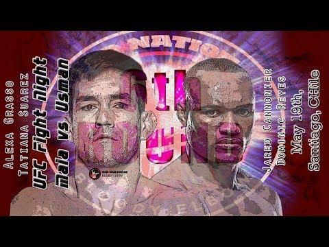 UFC Chile: Maia vs. Usman 6th Round post-fight show (видео)