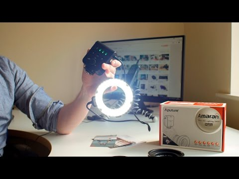 Aputure Amaran HN100 Halo LED Light Review