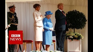 Video President Donald Trump arrive at Windsor- BBC News MP3, 3GP, MP4, WEBM, AVI, FLV Juli 2018