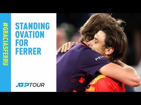 Zverev Calls For Standing Ovation On Ferrer's Final Point