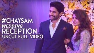 Video Chay Sam Wedding Reception Uncut Full Video | Naga Chaitanya, Samantha Akkineni Wedding Reception MP3, 3GP, MP4, WEBM, AVI, FLV November 2017
