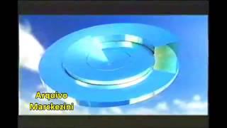 Vinheta anunciando o fim do horário de verão.Globo, 2003.