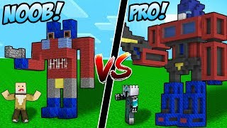 Video TRANSFORMERS CANGGIH NOOB VS TRANSFORMERS OTOMATIS PRO SANGAT RAHASIA DI DUNIA MINECRAFT! MP3, 3GP, MP4, WEBM, AVI, FLV Desember 2018