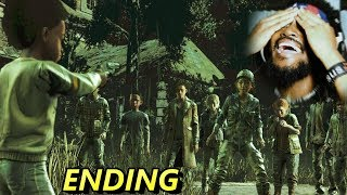 AJ HOW COULD YOU DO THAT!? THIS ENDING..   The Walking Dead: The Final Season (Part 2)