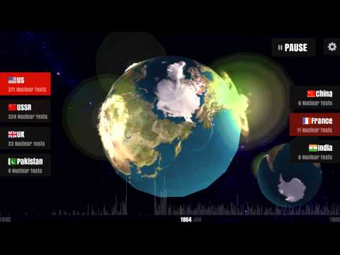 Video of Worldwide Nuclear Explosions