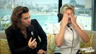 One Direction have a 'quickie' with Smallzy