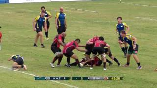 ARC 2015 Kazakhstan vs Singapore 2nd Half