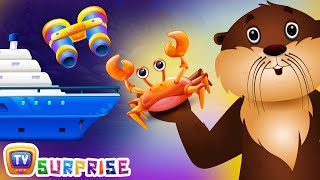 Learn Colours, Sea Animals & Objects with ChuChu TV Surprise Eggs Nursery Rhymes. Make your kids enjoy the surprise and learn Colours, sea animamls and objec...