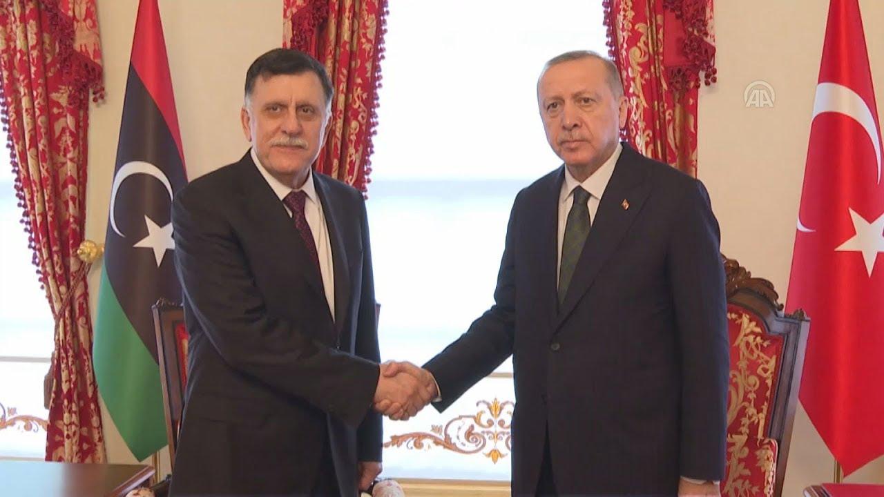 Συνάντηση Ερντογάν-Σάρατζ στην Κωνσταντινούπολη(εσ. πλάνα)