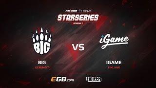 BIG vs iGame, map 2 cache, SL i-League StarSeries Season 3 Europe Qualifier