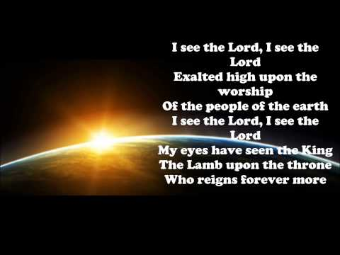 I See The Lord - Lyrics  (He Is Able)  CD
