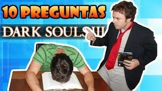 """Eres un experto en Dark Souls 3? 10 preguntas difíciles sobre Dark Souls 3 para demostrarlo! (Examen a Rusín). Has aprobado tú? xDEn este vídeo os haré 10 preguntas sobre la historia, lore, armas, clases, ... en fin, pondré a prueba vuestros conocimientos sobre Dark Souls 3 y sobre toda la saga souls. ¡Sólo si conoces bien los entresijos del juego serás capaz de sacar buena nota en este examen!¿Te ha gustado este vídeo? ¡SUSCRÍBETE PARA MÁS! http://bit.ly/1H1gvxvDark Souls (ダークソウル Dāku Souru?) es un videojuego de rol de acción, desarrollado por From Software para las plataformas PlayStation 3, Xbox 360 y Microsoft Windows, distribuido por Namco Bandai Games. Anteriormente conocido como Project Dark. Su lanzamiento fue el 22 de septiembre de 2011 en Japón, 4 de octubre en Norteamérica, 6 de octubre de 2011 en Australasia y 7 de octubre en Europa.Este vídeo forma parte de la serie """"TOP SERIES + LORE: Dark Souls 1, 2 y Demon's Souls"""", unos vídeos donde hablaré de distintos TOPS relacionados con la saga souls. Puedes acceder a esta lista de reproducción aquí:https://www.youtube.com/playlist?list=PL_UUOu2ib2kLMp8jjnt02am5bM_sIYR95Espero que os guste este vídeo donde podéis ver 10 preguntas sobre Dark Souls 3, para ver si sois expertos en el juego xDTodos los días intentaré subir un vídeo nuevo al canal, así que te animo a que vuelvas a Powerbazinga TV!Visita mi canal para más vídeos: http://www.youtube.com/user/PowerbazingaSuscríbete para recibir los nuevos vídeos: http://www.youtube.com/subscription_center?add_user=powerbazingaNOTA 1: La música de fondo del vídeo es de la banda sonora del Dark Souls 3"""