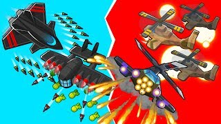 Bloons TD 6 - 4-Player Aircraft Battles Challenge | JeromeASF